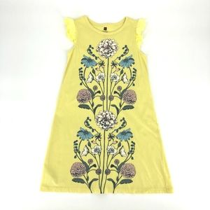 Tea Collection yellow flowers cotton dress